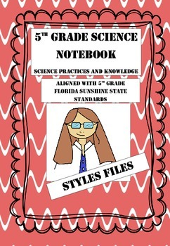 5th Grade Science Interactive Notebook- Nature of Science