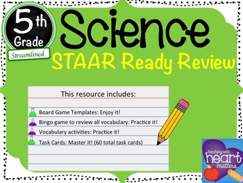 5th Grade Science STAAR Ready Review