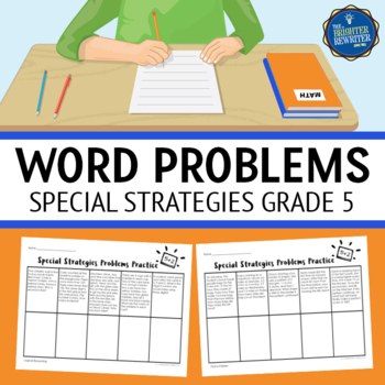 5th Grade Special Strategies Word Problems