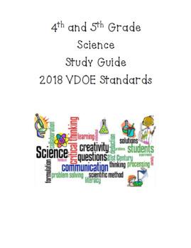 5th Grade Study Guide for 4th/5th Grade SOL's in VA