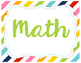"""5th Grade TEKS """"I Can"""" Statements ALL SUBJECTS"""