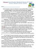 5th Grade TN Part 2 Social Studies Standards Review