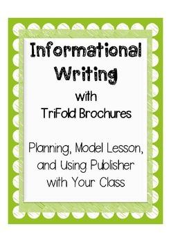 5th Grade Writing: Informational Brochure