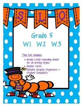 5th Grade Writing SLO