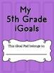 5th Grade iGoals