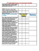 5th grade Common Core Math checklist/Assessment Tracker