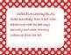 5th grade Common Core posters, ELA, polka dot background