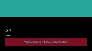 5th grade EnVision Math Topic 2 / Lesson 7 PPP Lesson