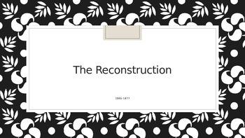 5th grade Georgia social studies ppt Jim Crow, Reconstruction
