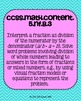 5th grade Math Common Core Standards Posters BUNDLE