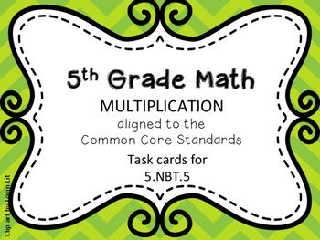 5th grade Multiplication!