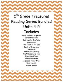 5th grade Treasures Reading Units 4-5