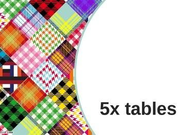5x tables
