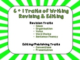 6 + 1 Traits Revising & Editing Traits