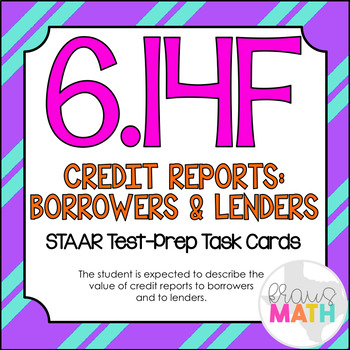 6.14F: Importance of Credit History STAAR Test-Prep Task C