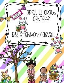 6 April Literacy Centers