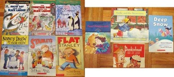 10 Christmas winter childrens books Flat Stanley adventure