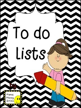 "6 Different ""To Do"" Lists"
