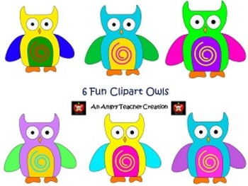 Owl Clipart for Personal and Commercial Use