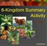 6 Kingdom Summary Activity