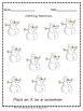 6 Little Snowman and Snowflake Math Activities