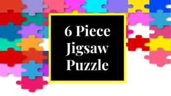 6 Piece Jigsaw Puzzle