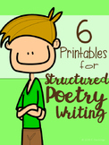 6 Printables for Structured Poetry Writing