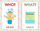 5 W's and an H (Question Words) Bundle Pack- Who? What? Wh