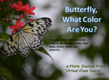 eBooks - 6 Sight Word Books With Real Photos - Butterflies