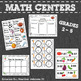 6 Spring Math Centers