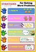 6 Steps for Solving Maths Word Problems Free- early years