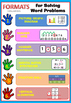 6 Steps for Solving Maths Word Problems Free- middle years