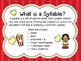 Syllable posters
