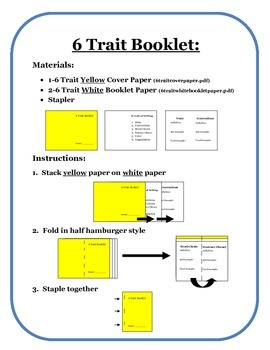 6 Traits Booklet/Flipbook