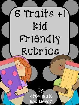 6-Traits Plus 1 Rubrics (Kid Friendly)
