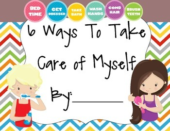 6 Ways to Take Care of Myself Book