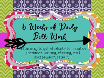6 Weeks of Daily Bell Activities