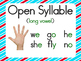 6 syllable types