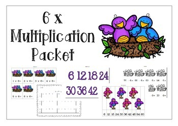 6 x Multiplication Pack