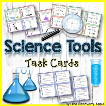 60 Science Tools Task Cards for Differentiated Learning an