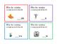 60 Task Cards Beginning Consonant Letter F G H J K Spell W