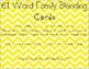 61 Word Family Blending Cards