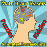 100 Animated Math Brain Teasers and Puzzles for PowerPoint
