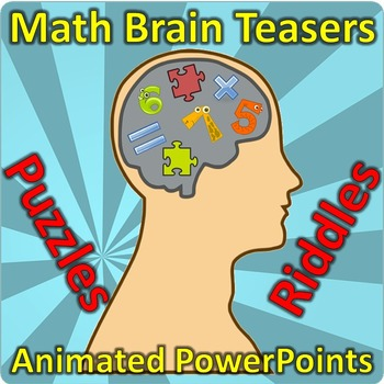 Brain Teasers - Math Puzzles for PowerPoint