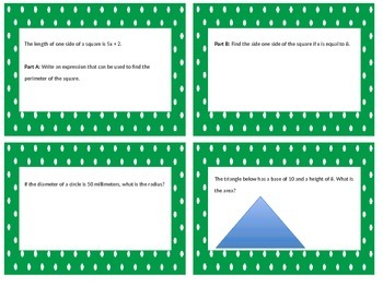 6.G. Geometry Task Cards!!