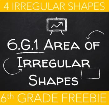 6.G.1 Area of Irregular Shapes