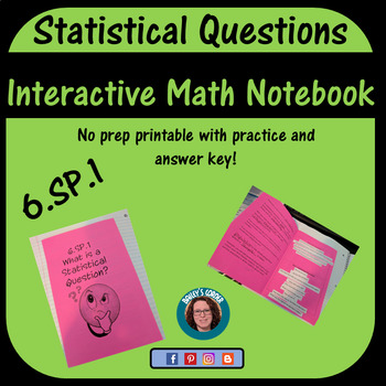 6.SP.1 What is a Statistical Question for Interactive Notebook