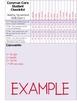 {6th Grade} Common Core Data Checklists - ELA and Math