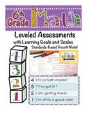 6th Grade Common Core Math Assessment with Marzano Scales!