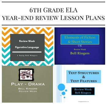 6th Grade ELA Review Bundle